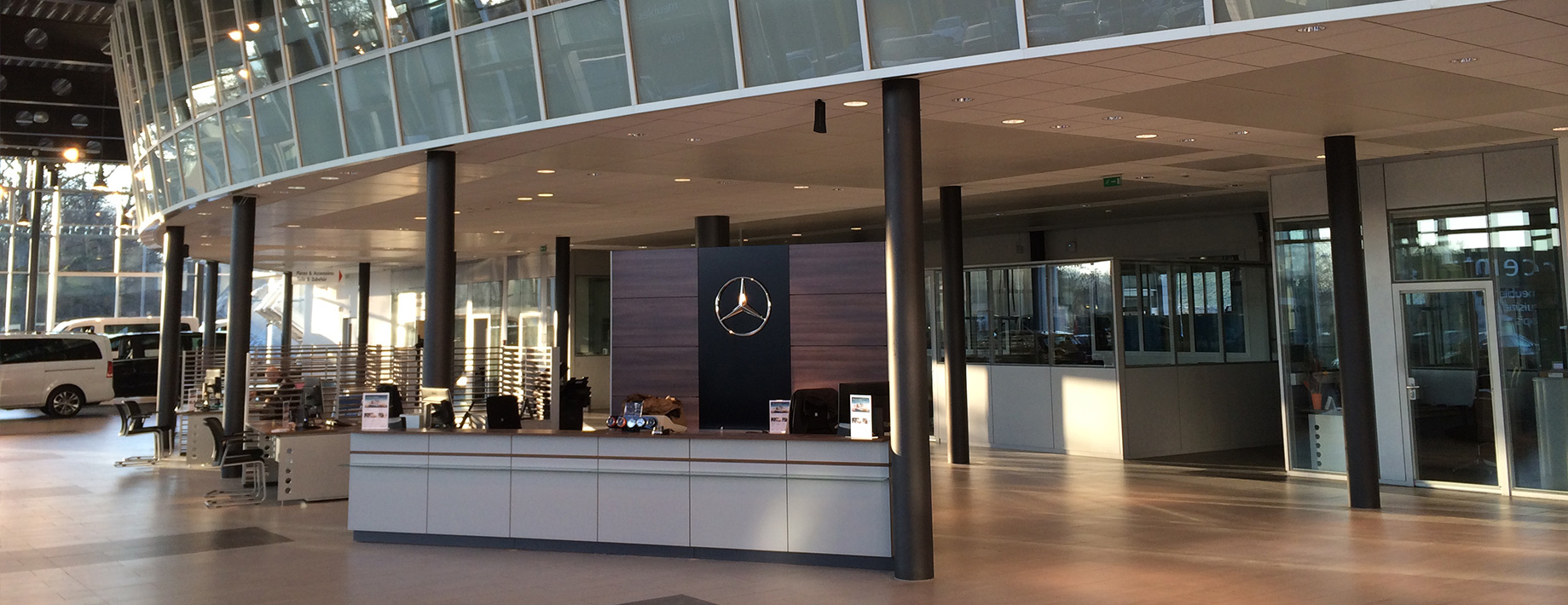 Transformation du Showroom Mercedes